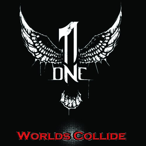 ONE - WORLDS COLLIDE CD ART
