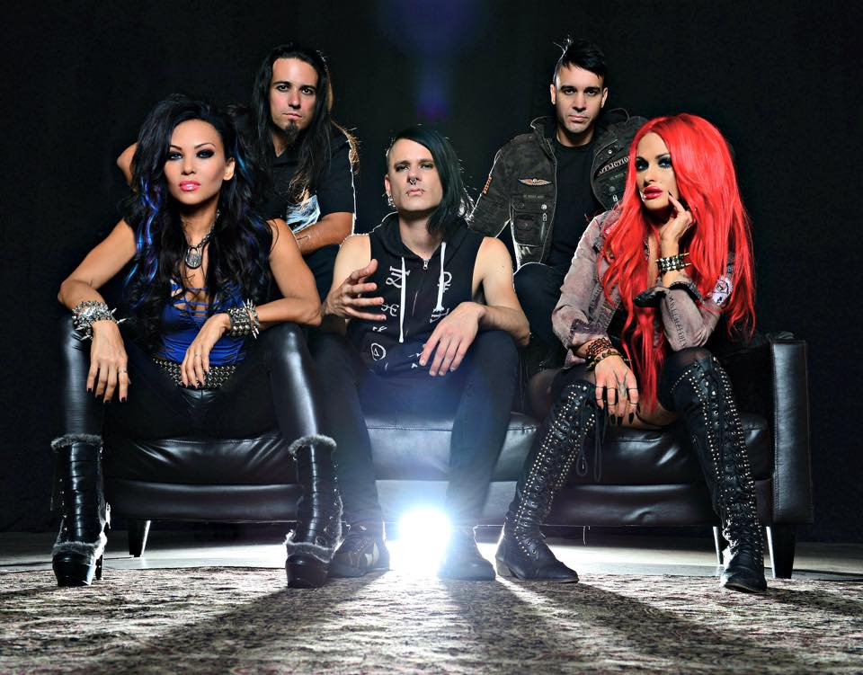 The A&GS Butcher Babies Experience: Part I - A Chat With Heidi Shepherd - Amps and Green Screens