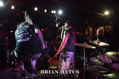 Photo Gallery: Biohazard And Sworn Enemy At Revolution!! - Amityville, NY