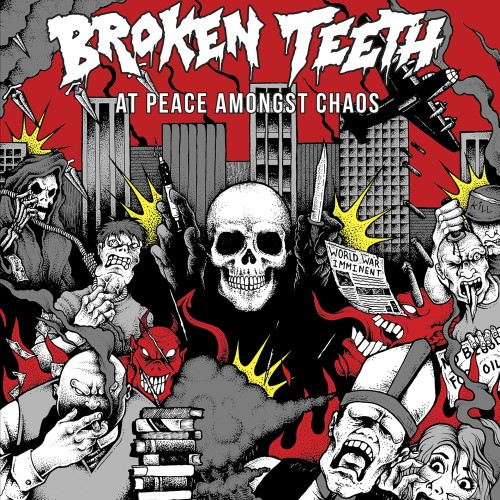 Broken Teeth HC - At Peace Amongst Chaos - Artwork