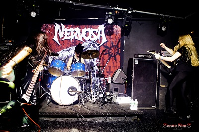 Nervosa Brings The Pain To Blackthorn 51!! - Queens, NY 8/8/16