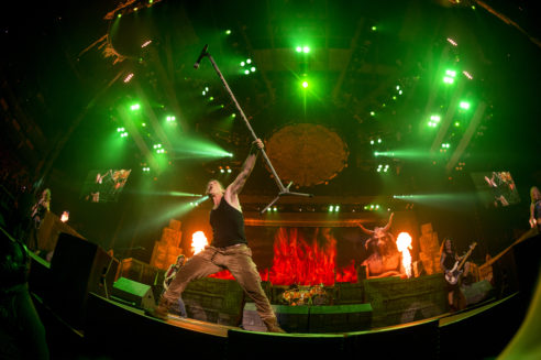 Iron Maiden Destroys Philly On The Book Of Souls Tour!! - Wells ...