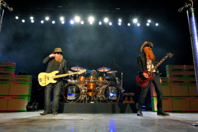 ZZ Top Opens The Brand New Toyota Music Factory With A Bang!! - Irving, TX 9/9/17