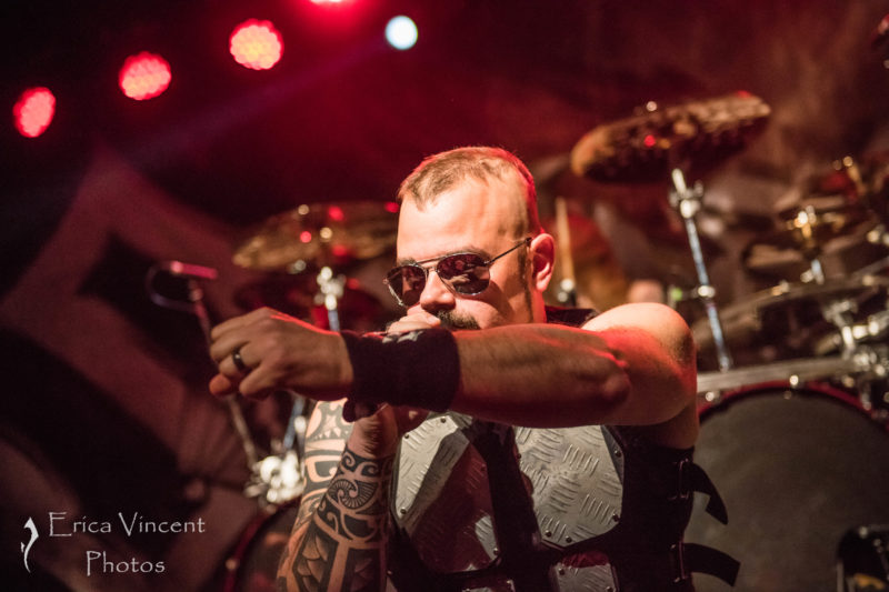 SABATON, KREATOR, AND CYHRA LIVE AT WONDER BALLROOM!! - PORTLAND, OR 2/12/18