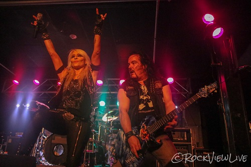 Mini-Amps' First Show At Reverb Is The Metal Queen DORO Live!! - Reading, PA 5/8/19