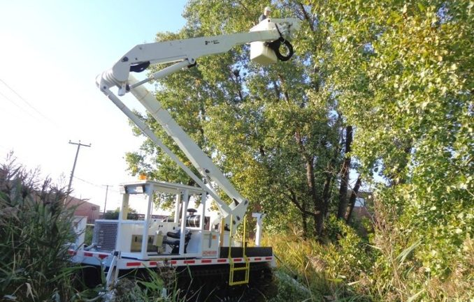 We build bucket trucks for the Forestry and Tree Care Industry