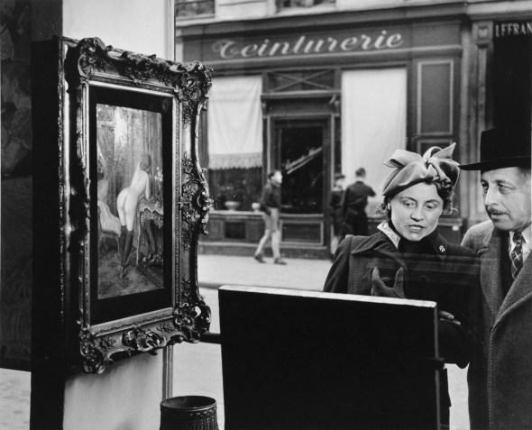 """""""Un Regard Oblique,"""" by Robert Doisneau, 1948."""