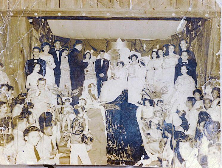 Coronacion de la reyna 1950