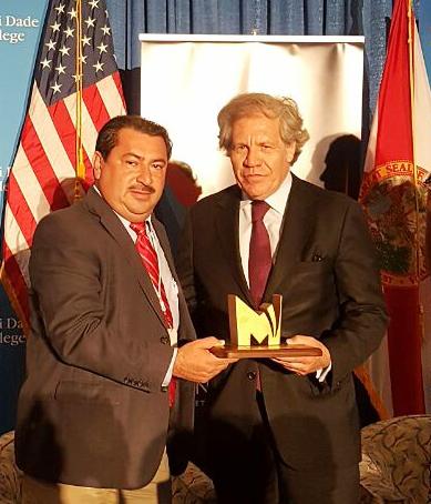 Premio otorgado por la OEA
