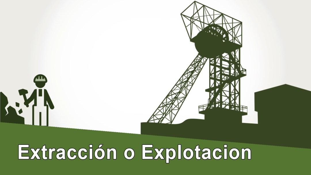 Extraccion o Explotacion