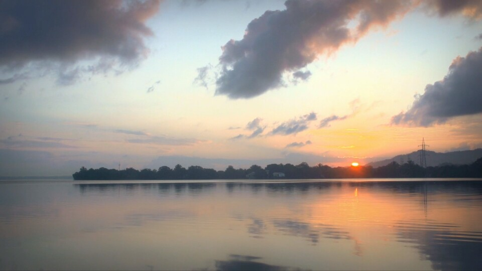 amanecer laguna