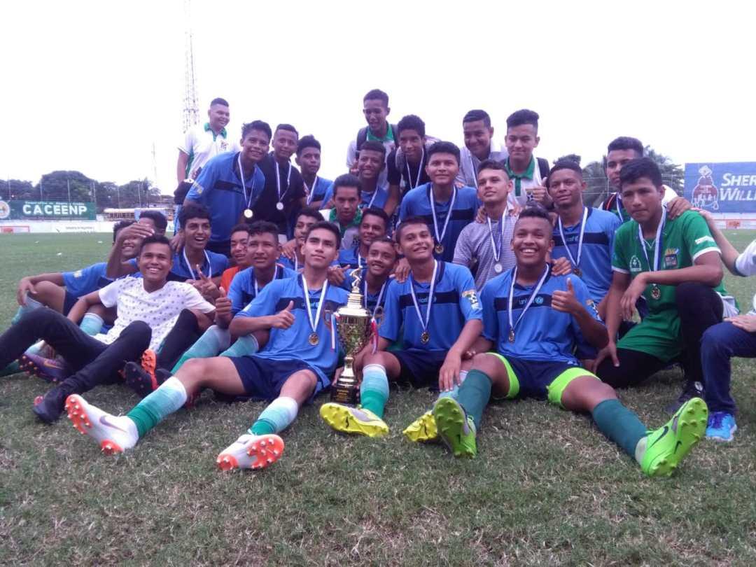 u-16 campeon