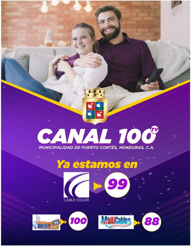 PUBLCIDAD CANAL 100 MUNICIPAL