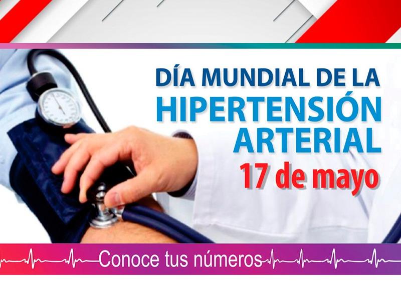 Día Mundial de la Hipertensión Arterial.