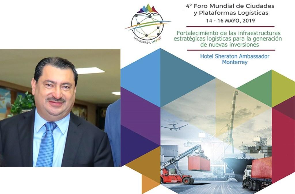 """Puerto Cortes presente en el  """"4to. Foro Mundial de Ciudades y Plataformas Logísticas""""."""