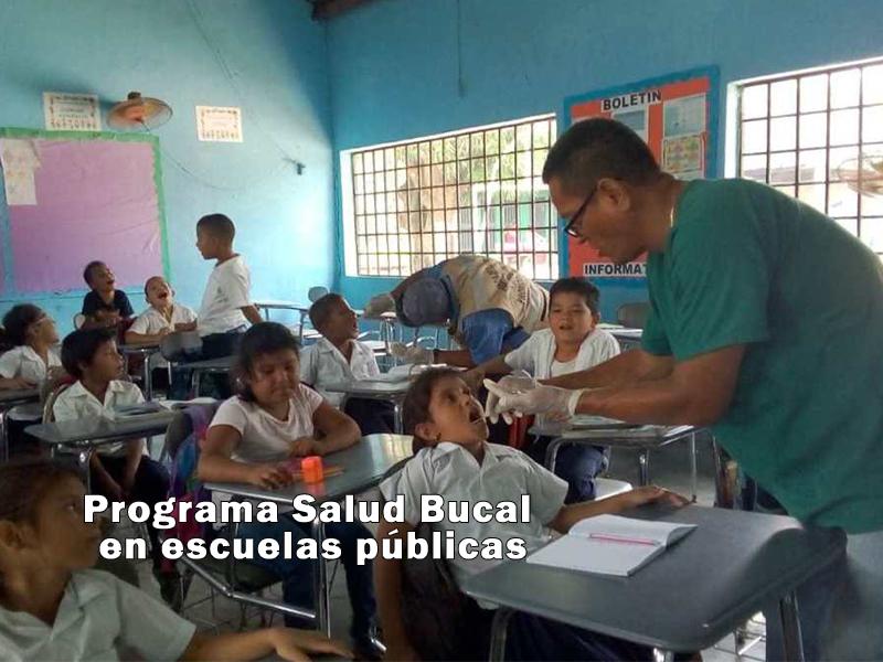 Fluorizan niños en la Escuela de El Sofoco, Baracoa.