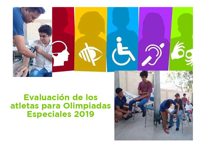 Preparándonos para las Olimpiadas Especiales 2019 con evaluaciones medicas.