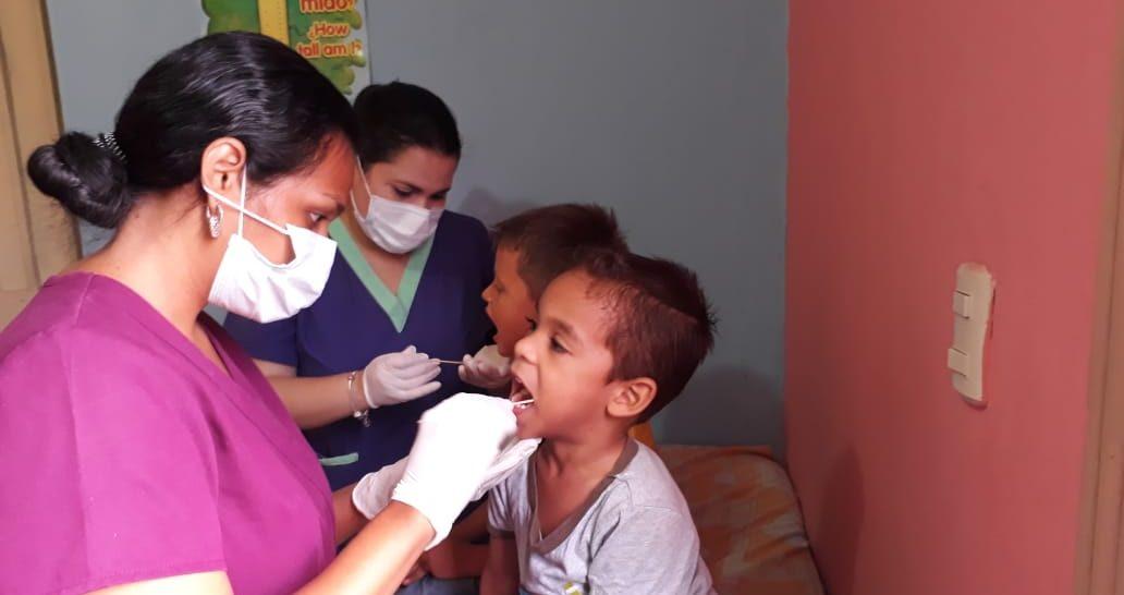 Realizamos evaluaciones odontológicas en el CAIN San José.