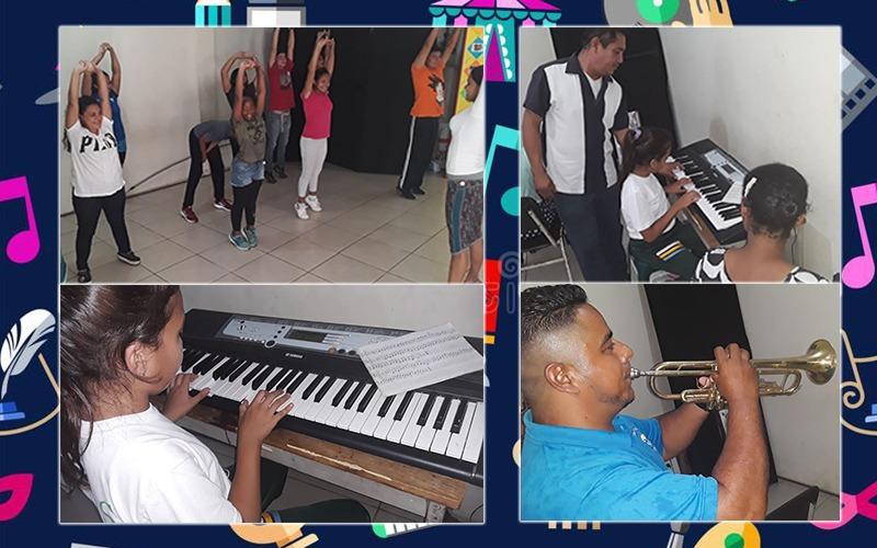 Ya aperturamos las Clases de Danza, Baile y Música para niños en las Oficinas de Cultura.