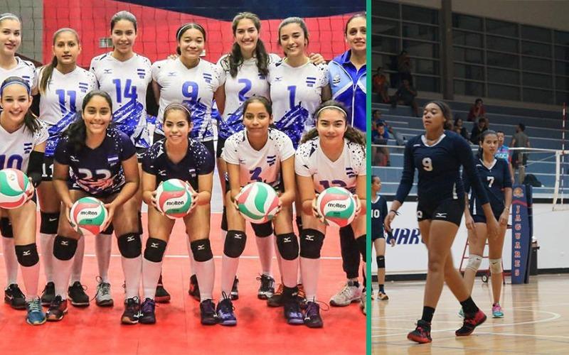 Nuestra representante en Selección Nacional voleibol Sub-18, Shantte Clark Orgullo Porteño.
