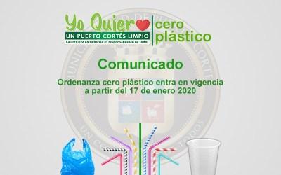 Entra en vigencia Ordenanza ¨Cero Plástico¨.