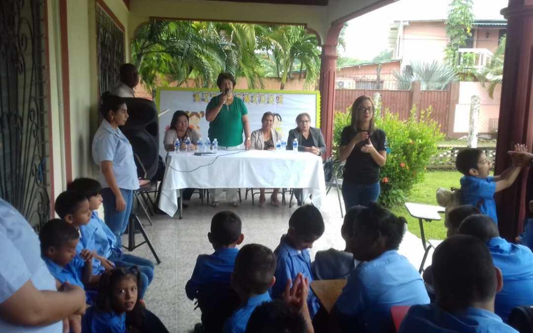 Inauguramos clases en la Escuela Especial Municipal Emanuel.