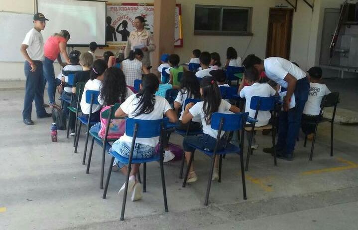 Iniciamos clases en Escuela inductiva de Bomberos Infantiles 2020.