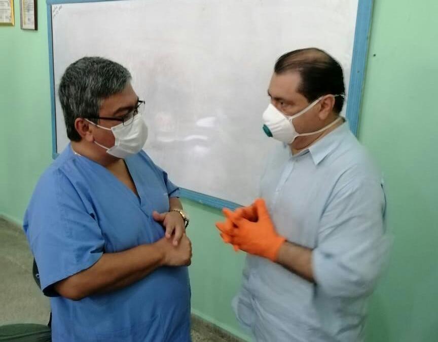Colegio médico se incorpora al CODEM para reforzar lucha contra propagación del COVID-19destacado
