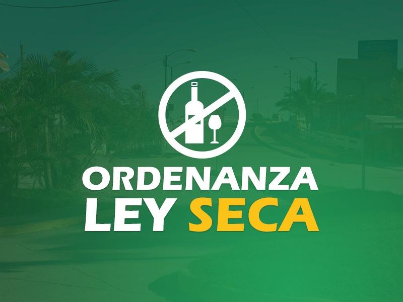 Aprobada Ley Seca a partir del 20 de Marzo 2020.