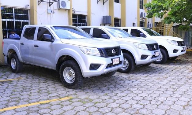 Programa HACER pone a disposición tres vehículos para reforzar acciones contra la pandemia.