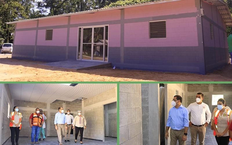 Nuevas instalaciones del CIS Linda Coello en un 70% de su construcción.