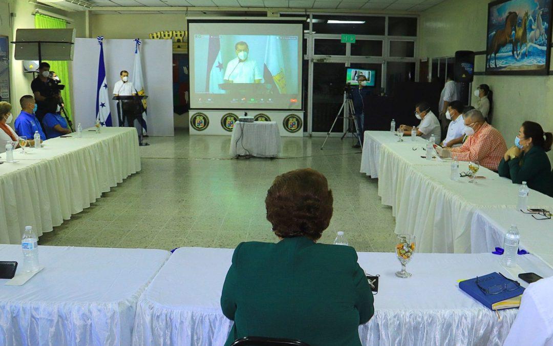 Primer Cabildo Abierto Virtual, más de 360 ciudadanos conectados.