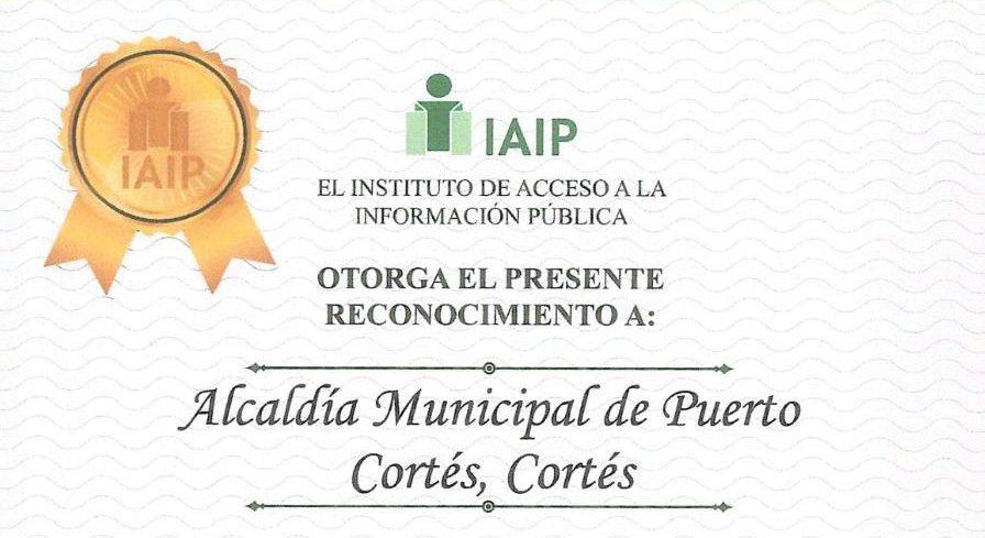 Recibimos el Segundo Reconocimiento del IAIP.