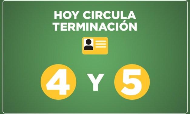 La Apertura Gradual y Responsable se amplía a dos dígitos, hoy circulan 4 y 5.