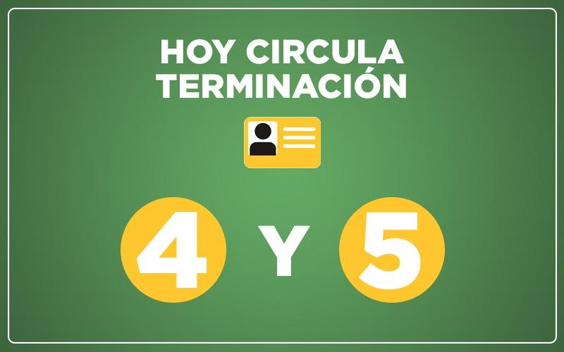 La Apertura Gradual y Responsable se amplia a dos digitos, hoy circulan 4 Y 5.