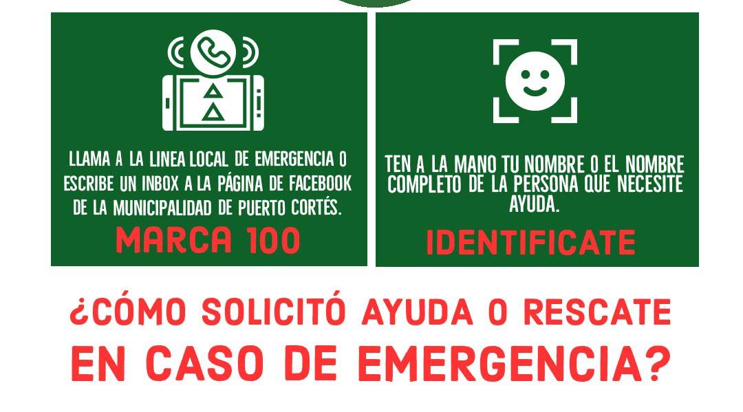 Pasos para llamar a la línea de local de Emergencia 100.