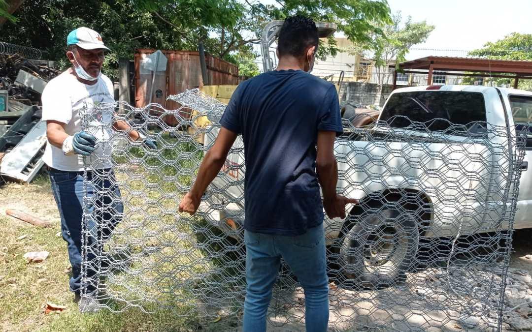 Reconstruiremos muro de protección de quebrada en aldea la Pita