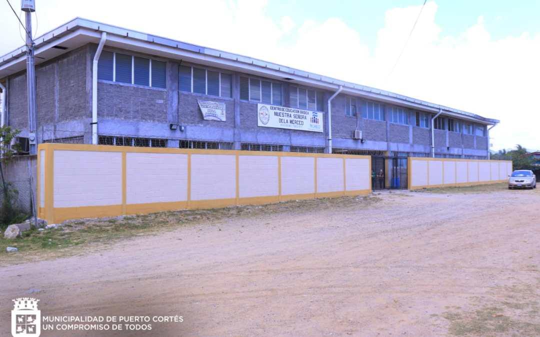 Construcción Cerco Perimetral del C.E.B. Nuestra Señora de la Merced