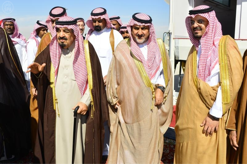 الملك سلمان مشعل بن عبد العزيز آل سعود