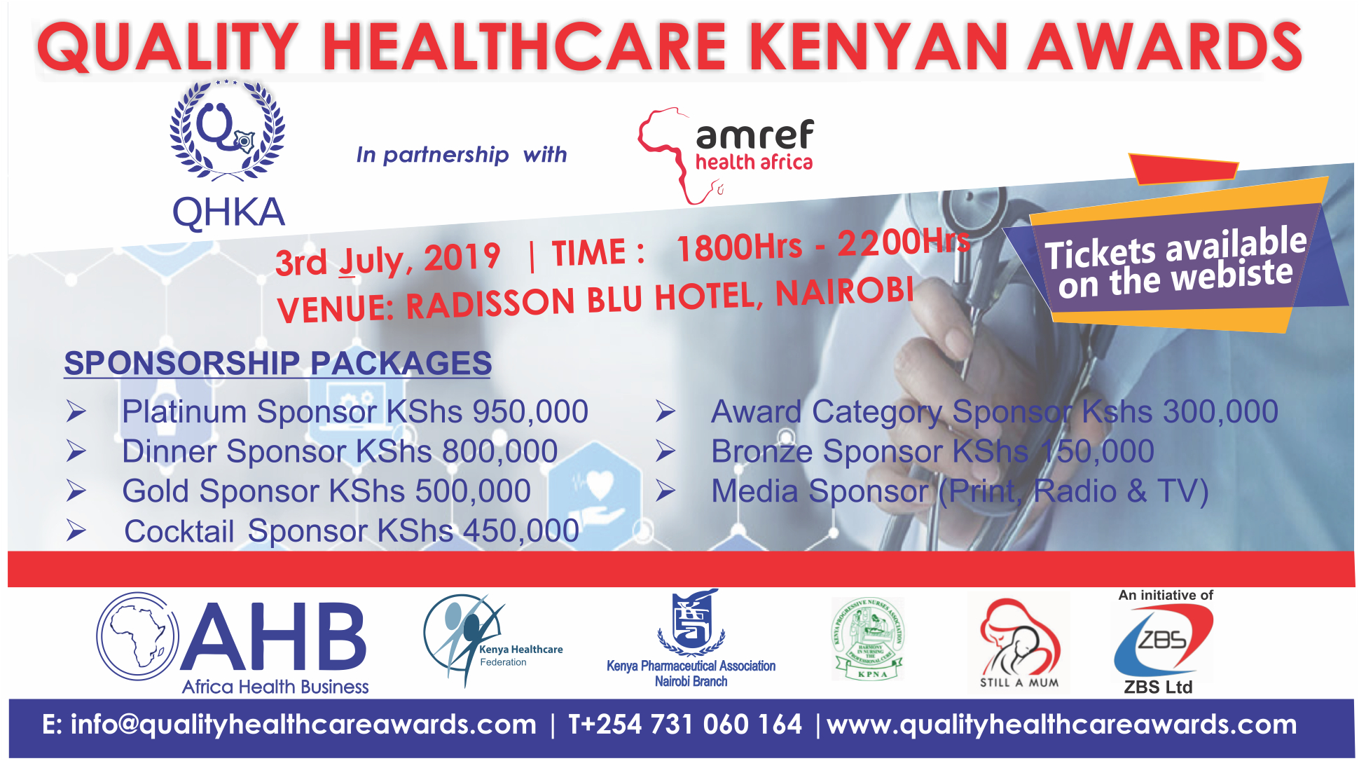 Honouring excellence in the Kenyan health sector