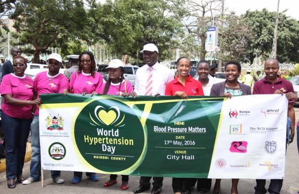Amref Health Africa Commemorates World Hypertension Day