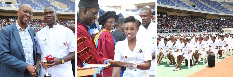 Celebrations mark graduation of first class of eLearning nursing students