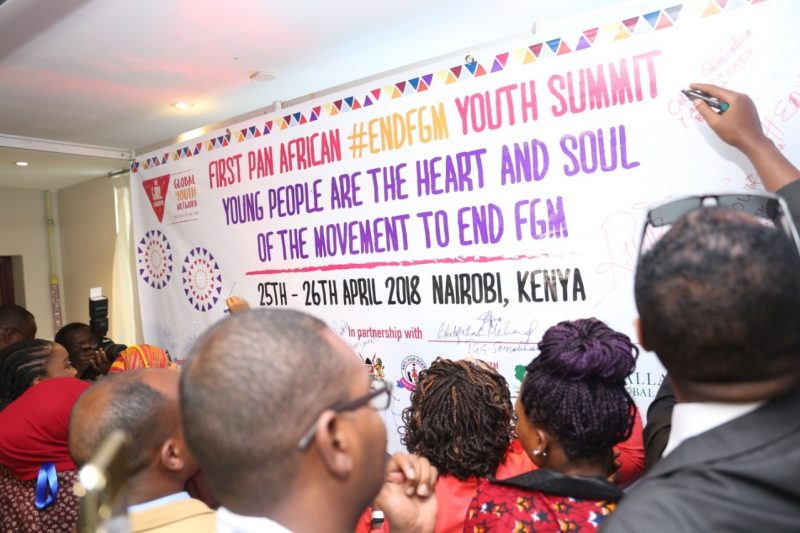 First Pan-African Anti-FGM Youth Summit Held in Nairobi, Kenya