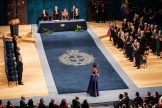 Amref Health Africa End FGM Global Ambassador Ms Nice Nailantei at the Princess of Asturias Awards Ceremony in Oviedo, Spain