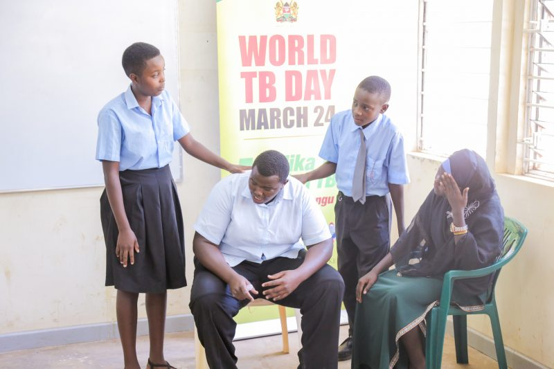 Kenya takes TB Awareness to Schools through Drama