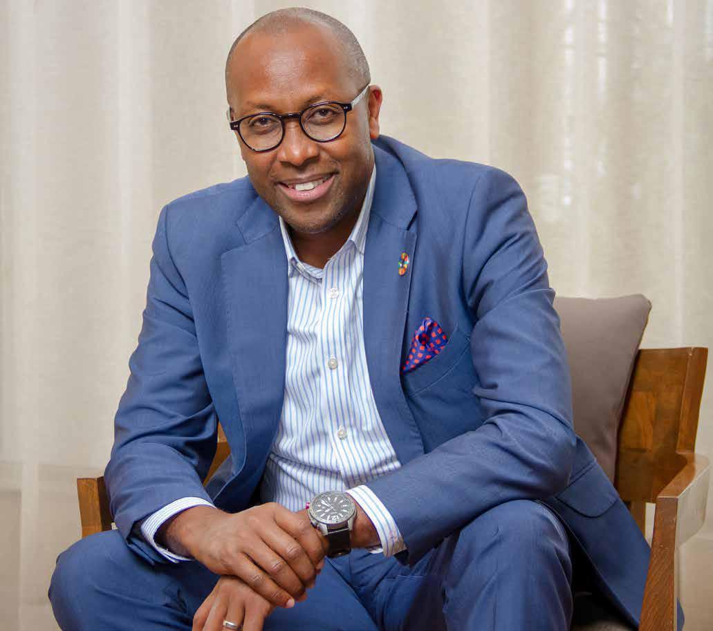 Dr Githinji Gitahi, Amref Health Africa Group CEO