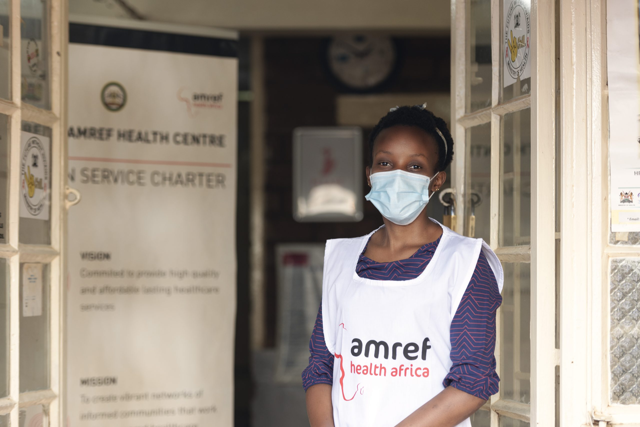 Lydia Kuria, A nurse and Facility incharge , Amref Kibera Health Centre (3)