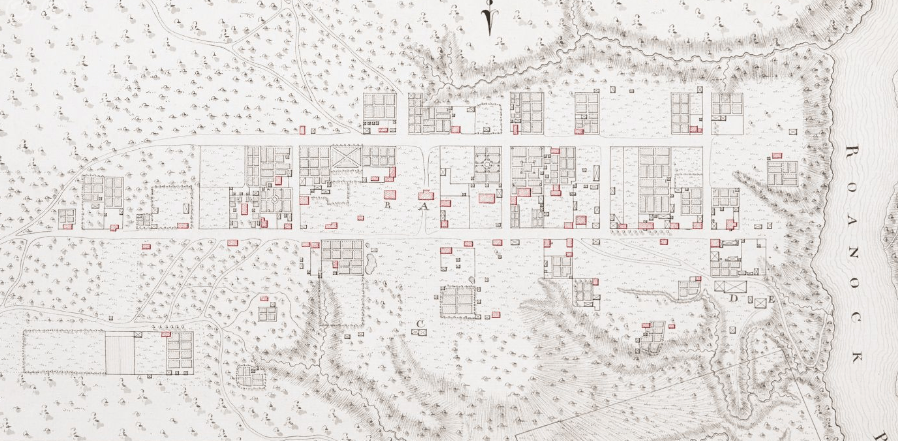 Old map of Halifax
