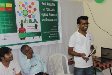 Be a B.A. Book launch
