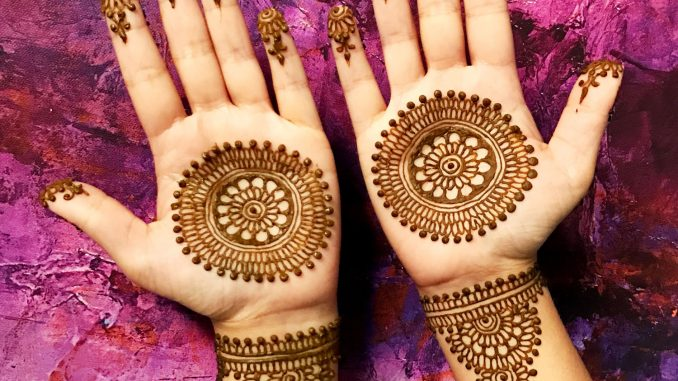 mehendi designs for bride's mother